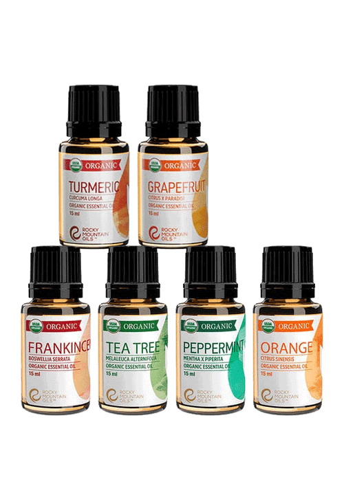 Organic Essential Oil Kit