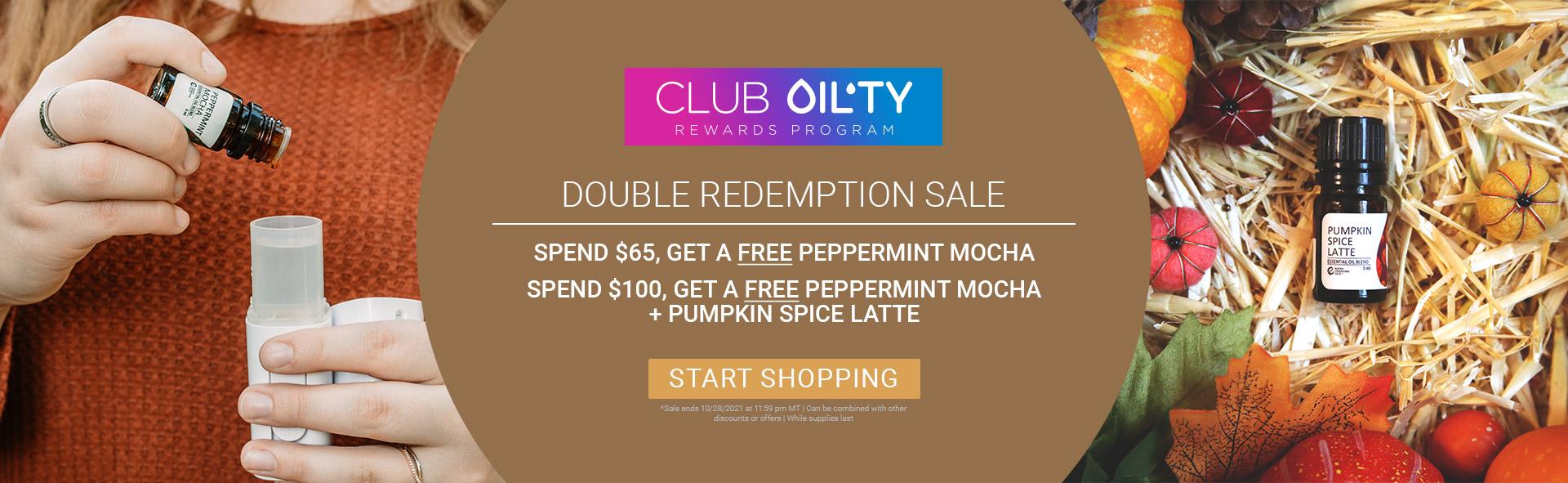 Double Redemption Sale